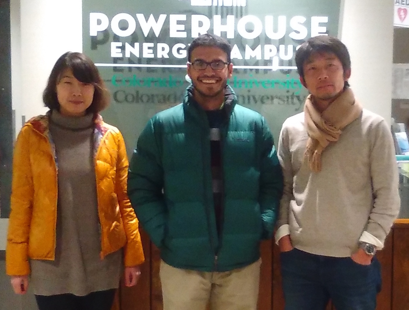 Ying and Yu visit from NIES | Laboratory for Air Quality